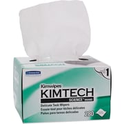 "Kimberly-Clark® Kimtech Science® Kimwipes® Task Wipe, Unscented, White, 8.4""(W) x 4.4""(L), 30/Ctn"