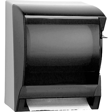 Kimberly-Clark In-Sight Lev-R-Matic Plastic Roll Towel Dispenser, Translucent Smoke/Gray (9736)