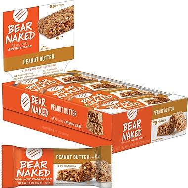 Bear Naked® Peanut Butter Energy Bar 2 oz. bar, 8 Bars/Box, 2 Boxes/Bundle
