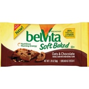 belVita Oats & Chocolate Breakfast Biscuit, 1.76 oz., 8/BX