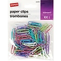Staples® #1 Paperclip 100 PK -Fashion
