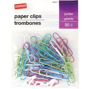 Staples® Jumbo Paperclip 50 PK - Fashion