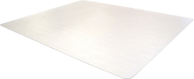 Floortex Phthalate free 48''x36'' PVC Chair Mat for Hard Floor, Rectangular (PF129225EV)