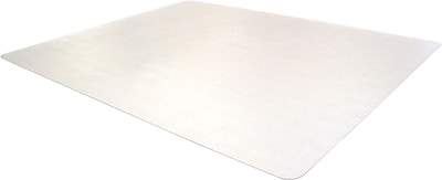 Floortex Phthalate Free 60''x48'' PVC Chair Mat for Carpet, Rectangular (PF1115225EV)