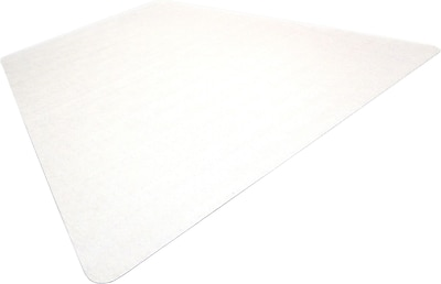 Floortex Ultimat 60''x48'' Polycarbonate Chair Mat for Carpet, Workstation (1115023TR)