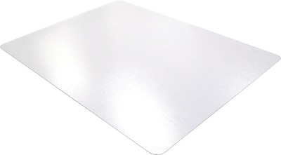 Floortex Polycarbonate 47''x35'' Polycarbonate Chair Mat for Carpet, Rectangular (118927ER)
