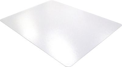 Floortex Polycarbonate 53''x48'' Polycarbonate Chair Mat for Carpet, Rectangular (1113427ER)