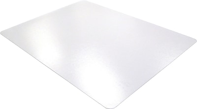Floortex Polycarbonate 53''x48'' Polycarbonate Chair Mat for Hard Floor, Rectangular (1213419ER)