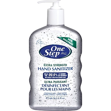 One Step® Extra Strength Hand Sanitizer, 473mL Pump