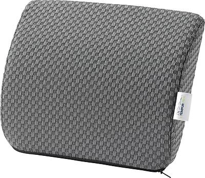 Tempur-pedic® Travel Lumbar Cushion with Fabric Cover, Grey
