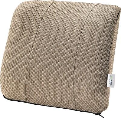 Tempur-pedic® Lumbar Cushion with Fabric Cover, Beige