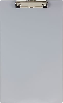 Officemate® Aluminum Clipboard, Legal Size, Silver, 9