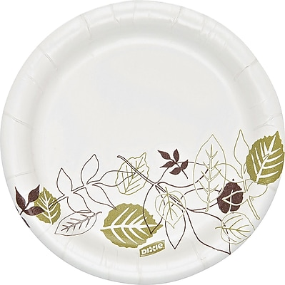 Dixie Pathways Heavyweight Paper Plates, 5.825