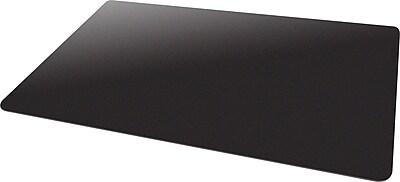 Deflecto Blackmat 60''x46'' Vinyl Chair Mat for Carpet, Rectangular, Black (CM11442FBLKCOM)