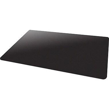 Deflecto Blackmat 53''x45'' Resin Chair Mat for Carpet, Rectangular, Black (CM11242BLKCOM)