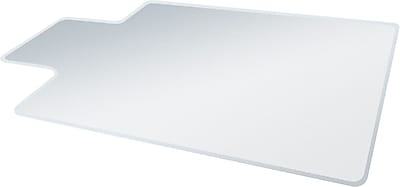 //.staples-3p.com/s7/is/  sc 1 st  Staples & Deflecto UltraMat 53u0027u0027x45u0027u0027 Vinyl Chair Mat for Carpet Rectangular ...