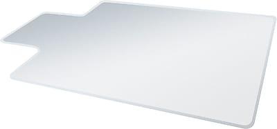 Deflecto RollaMat 48''x36'' Vinyl Chair Mat for Carpet, Rectangular w/Lip (DEFCM14113)