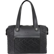 "Gino Ferrari 16"" Ladies' Tote, Black"
