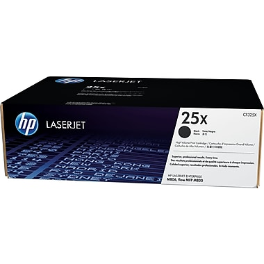 HP 25X Black Toner Cartridge (CF325X), High Yield