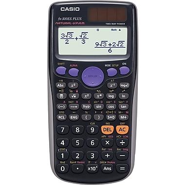 Casio® FX-300ES PLUS Scientific Calculator, Black