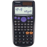 Casio® FX-300ES PLUS Scientific Calculator, Black