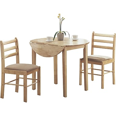 Monarch Natural 3-Piece Dining Set