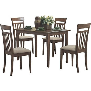 Monarch 5-Piece Dining Set, Walnut