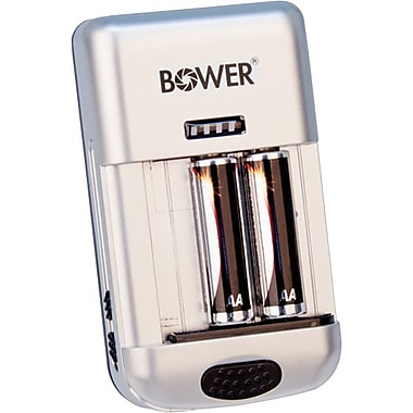 Bower UNIVERSAL WIZARD CHARGER - CANADA, BLACK