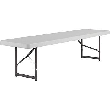 IndestrucTable Bench, Platinum, 18