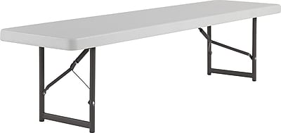 IndestrucTable Bench, Platinum, 18