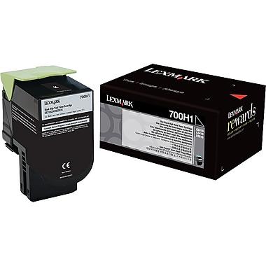 Lexmark Black Toner Cartridge (70C0H10), High Yield