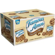 Famous Amos® Bite Size Chocolate Chip Cookies, 2 oz. Bag, 36/CS