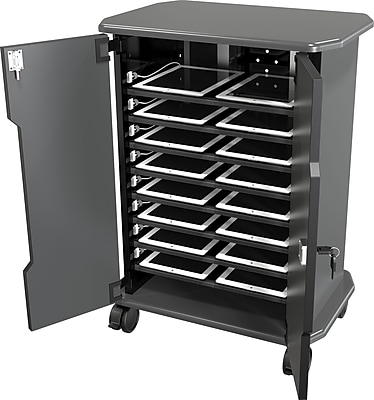Economy Tablet Charging and Security Cart