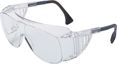 Sperian Ultra-spec® OTG Safety Glasses, Adjustable Temples, Anti-Scratch, Hard Coat, lear