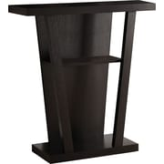 "Monarch 32""L Hall Console Accent Table, Cappuccino"