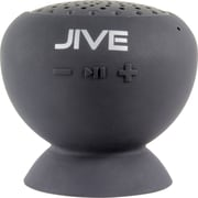 Digital Treasures Lyrix JIVE Bluetooth Water Resistant Speaker, Black