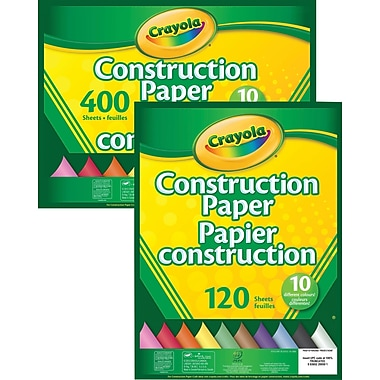 Crayola® Construction Paper, 10 Colours