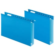 "Pendaflex® Extra Capacity Reinforced Hanging Folders, 2"" Expansion, Letter, 10/Box"