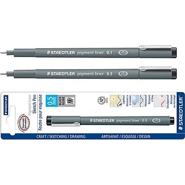 Staedtler® Fineliner Pigment Liner, Black