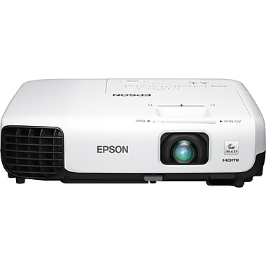 Epson VS330 XGA 3LCD Projector, White