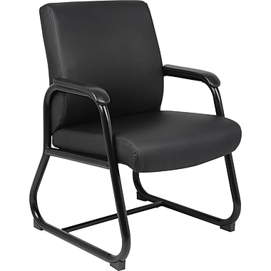 Boss B709 Guest Chair, Black
