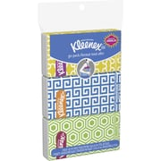 Kleenex Go Pack Facial Tissues, 3-Ply, 3 Pouches/Pack, 10 Sheets/Pouch