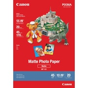 "Canon® Photo Paper, 13"" x 19"", Matte, 20 Sheets/Pack"