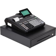 Casio® Electronic Cash Registers, Dual Tape Thermal Unit with 10-Line LCD Operator/2-line Customer Displays