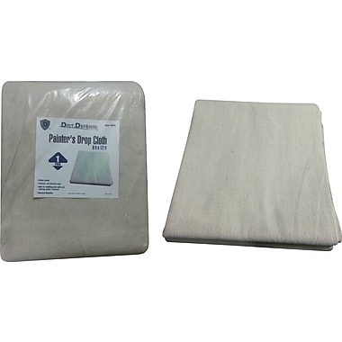 Dirt Defense Painter's drop cloth 9ft x 12ft