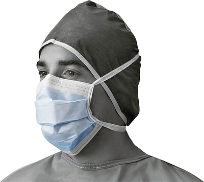 X-Tra® Surgical Face Masks, Blue, 50/Box