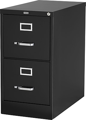 Staples Vertical File Cabinet, 25