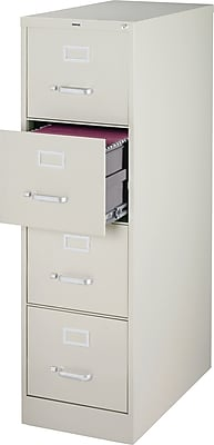 Staples 4-Drawer Vertical File Cabinet, 25