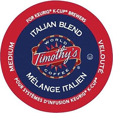 Keurig® - Café Timothy's® Mélange italien, paq./24