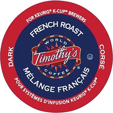 Keurig® - Café Timothy's® torréfaction française, paq./24